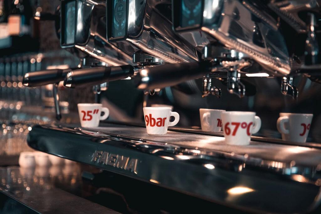 Espresso perfetto al bar