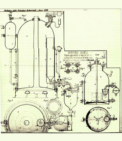 Brevetto Mcchina Caffè 1884